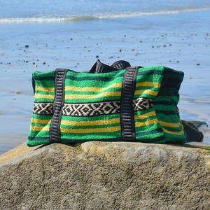 Boho Weekender Bag Duffel Travel Bag Carry On